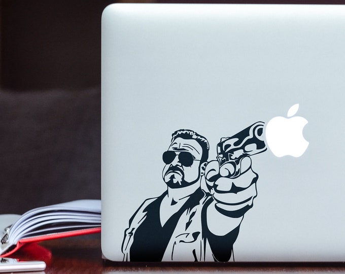 Do it or the apple gets itDecal for Macbook and other Laptops, Mac, Gun, Decals, Laptop Sticker, Bad Ass Decals for Bad Ass Boys!