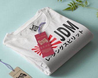 JDM - Racing Spirit - Limited Edition - For man and Woman, Tshirt