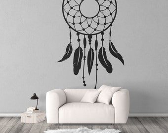 Dream Catcher wall decal, sticker, magical minds, Mystic collection, Wall decor, stickers, dream, fantasy, mural, Native American  Culture
