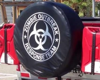 Zombie Outbreak Response Team - Die Cut Vinyl Decal Sticker, JDM DRIFT, Car Sticker, Decal for cars, motorcycles, bikes, laptops, etc..