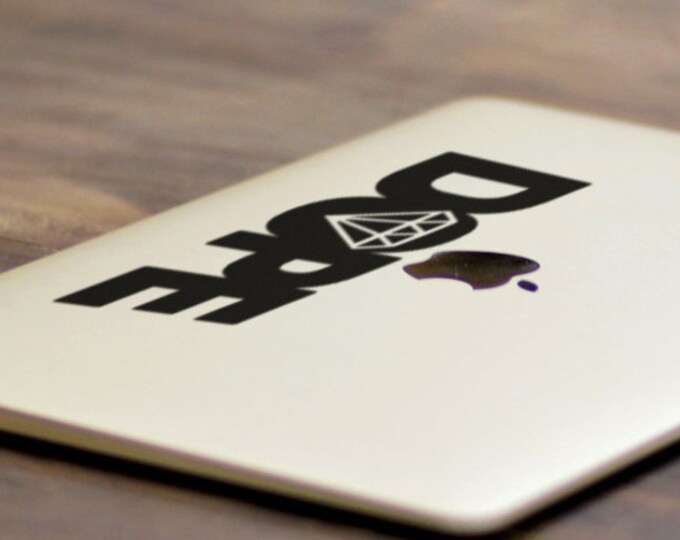 Dope Decal Sticker, Excellent Great Impressive Hot Cool Flip-Flop Dope Cocain Heroin Drugs, Version 2, mac, Macbook Decal Sticker