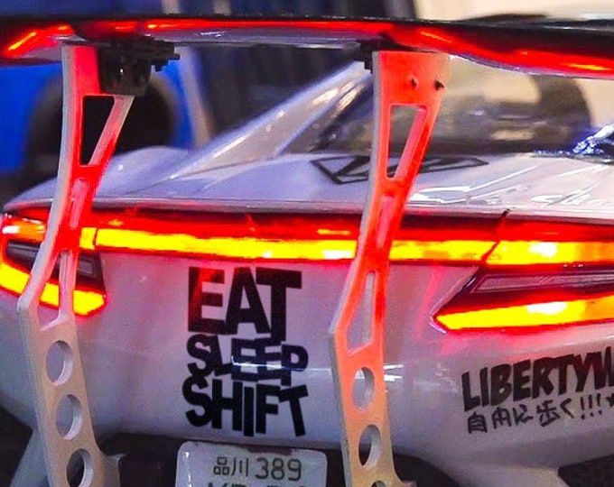 Eat Sleep and Shift, JDM, Japanese Domestic Market, Car Sticker, Decal, MotorSports Decals, Racing Cars, Adrenaline Rush