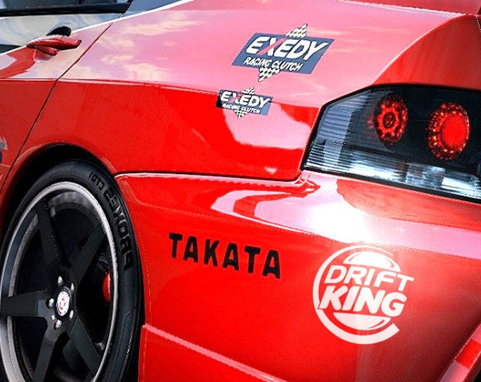 DRIFT KING, JDM, Japanese Domestic Market, World Wide Free Shipping, Car Sticker, Decal, MotorSports Decals