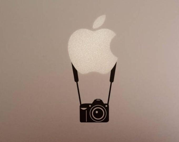 Photographer Forever decal sticker, Photo Photography Still Image 1000 Words Camera, Vinyl decals, mac, Macbook Decal Sticker
