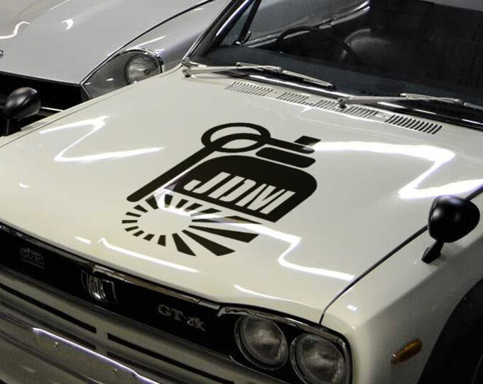 JDM Hand Grenade - Vinyl Sticker Decal JDM Drift Race Japanese Domestic Market Free Shipping MotorSports Decals Car decals bomb Free Ship