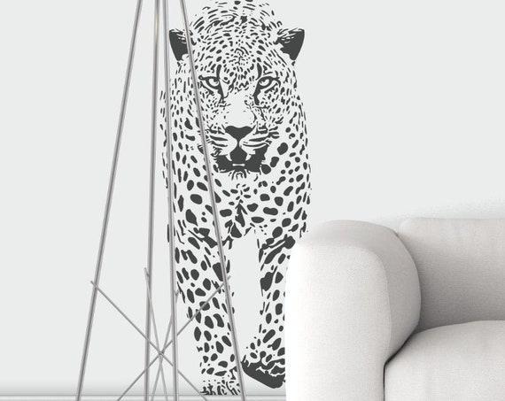 Digital Download Item - Walking Leopard - Ready to cut decal or print [svg - pdf - dxf - png - jpg - pdf - ai - eps - dpp - plt - dwg]