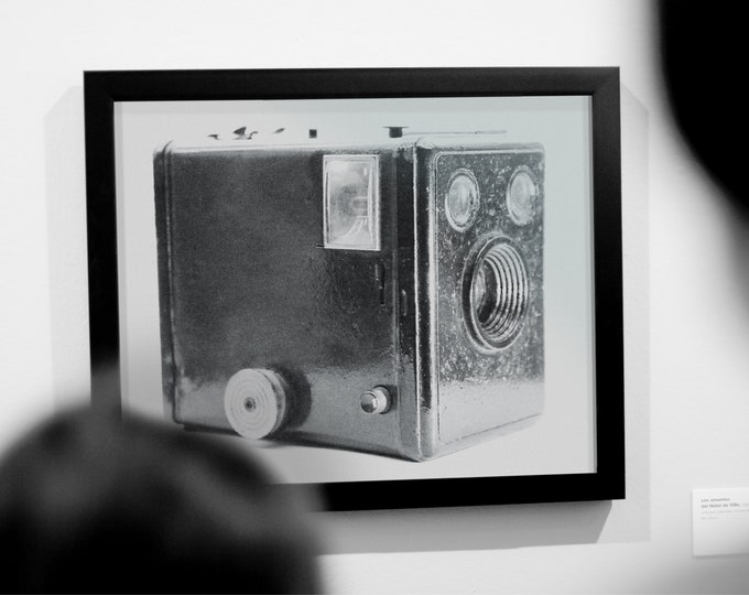 Featured listing image: Old Photo Camera - Printable Downloadable File - High Resolution JPGs - Home and Office Décor - Digital Photography Print - Instant download