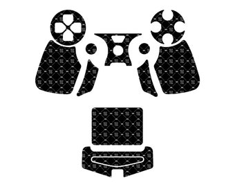 Sony PlayStation 4 - PS4 GEN 4 DualShock Skin template for cutting or machining - Plotters, CNCs, Laser cutters, Silhouette Cameo, Cricut