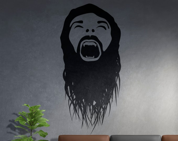 The Scream 1 - Ready for cut, print or engrave - Perfect for plotters, CNCs, Laser cutters - Instant File Delivery - SVG - DARKNESS SERIES
