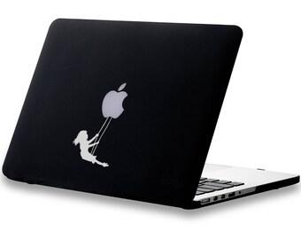 Swinging Playground GirlMacbook Decal, Laptop Decal, Sticker, Fun, Vinyl Decal, Relaxing Time, mac, Macbook Decal Sticker