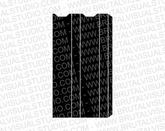 Juul Wrap - Skin templates for vinyl cutout or machining - Digital Download - Plotter, CNC, Laser Cutter - Vape Cut Template File