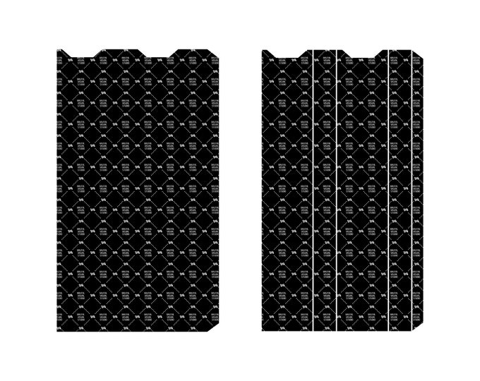 Juul Wrap - Skin templates for vinyl cutout or machining - Digital Download - Plotter, CNC, Laser Cutter - Vape Cut Template File