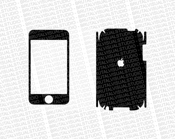 iPod Touch 2 Skin template for cutting or machining - Digital Download   Plotters, CNCs, Laser cutters, Silhouette Cameo, Cricut   11 Files