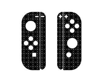 Nintendo Switch Joy-Con skin cut template - For cutting or machining - Plotters, CNCs, Laser cutters, Silhouette Cameo, Cricut, Vinyl skins