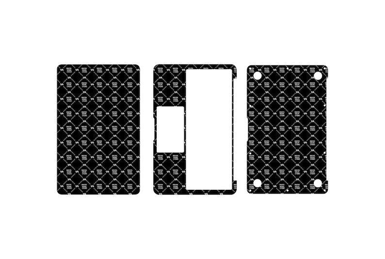 SVG  Macbook Air 11 Skin template for cutting // Digital image 0