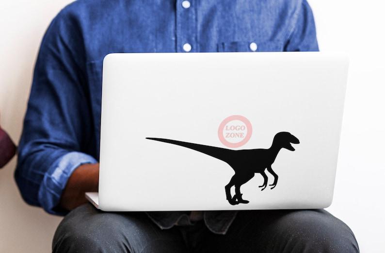 SVG  The Velociraptor // Laptops // Vector // Universally image 0