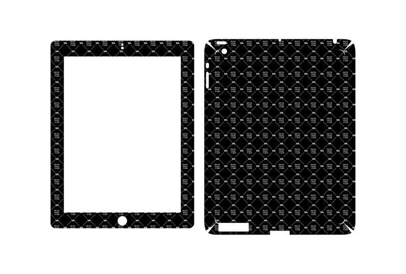 SVG  Apple iPad Gen 3 // Skin Cut //  Plotter CNC Laser image 0