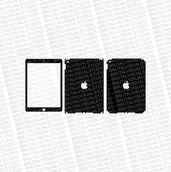 Apple iPad Air Gen 2 - Skin Cut Template  - Templates for cutting or machining - Digital Download - Plotter, CNC, Laser Cutter - SVG