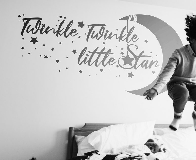 SVG  Twinkle Twinkle Little Star // Vector // Universally image 0