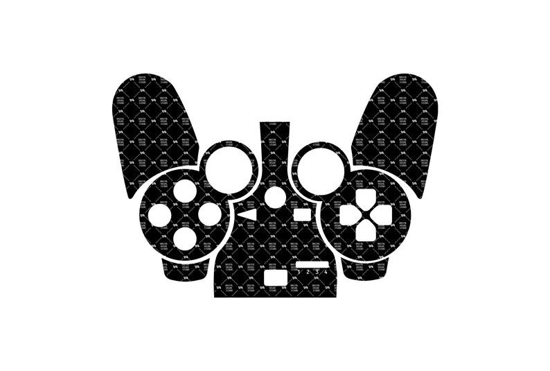 SVG  Sony PlayStation 3 // PS3 GEN 3 DualShock Skin template image 0