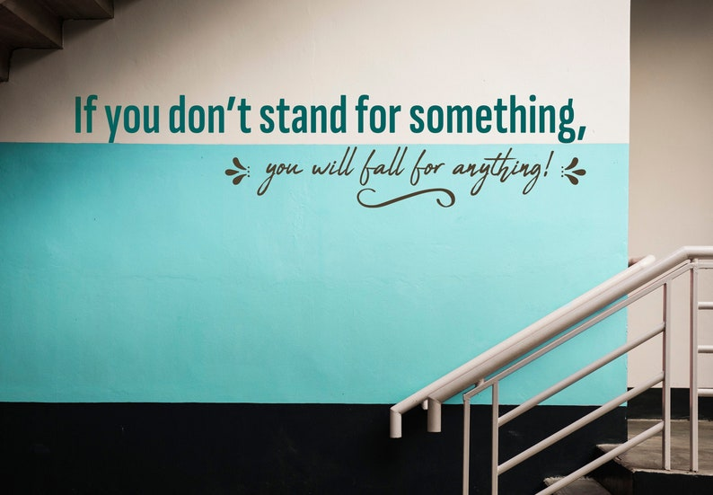 SVG  If you dont stand for something you will fall for image 0
