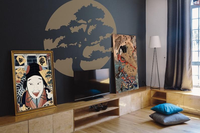 SVG  Japanese Bonsai Tree // Vector // Universally Compatible image 0