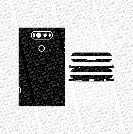 LG V20 Skin Wrap Cut File - Templates for cutting or machining - Digital Download - Plotter, CNC, Lasers - SVG, Cutout Files