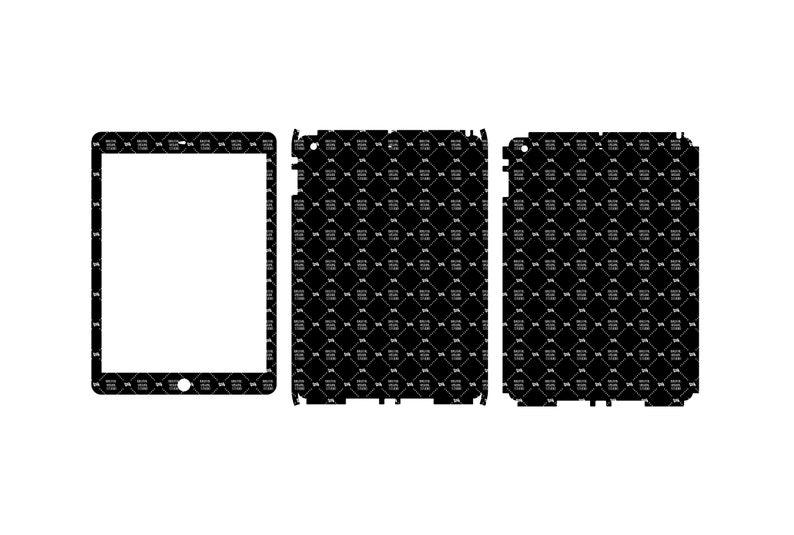 SVG  Apple iPad Air Gen 1 // Skin Cut Template //  Plotter image 0