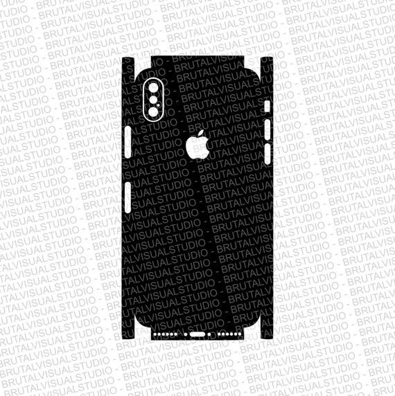 Iphone 10 X Skin Cut Template Templates for cutting or machining  6e1683b833
