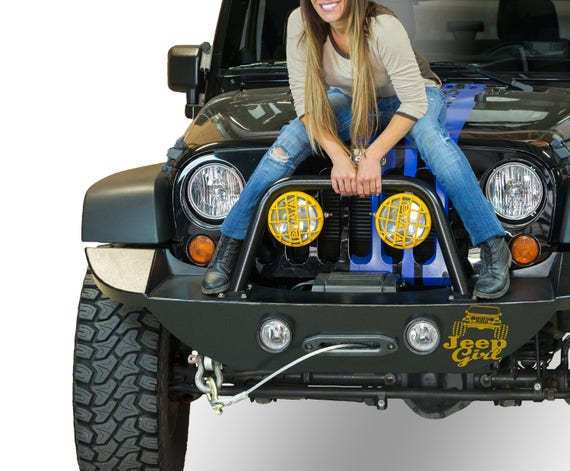 JEEP Girl - All Terrain Die Cut Vinyl Sticker, EPIC Decal For offroad 4x4 female enthusiasts, Racing Decal Sticker, Bad Ass Decal