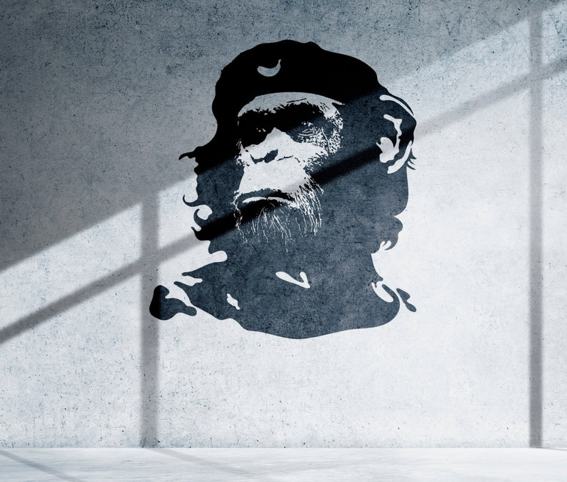 SVG  The Monkey General // Che Chimp // Universally image 0