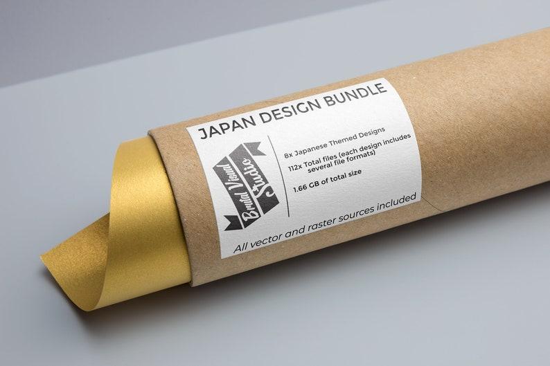 SVG  Japanese Design Bundle // 8 design sets included // image 0