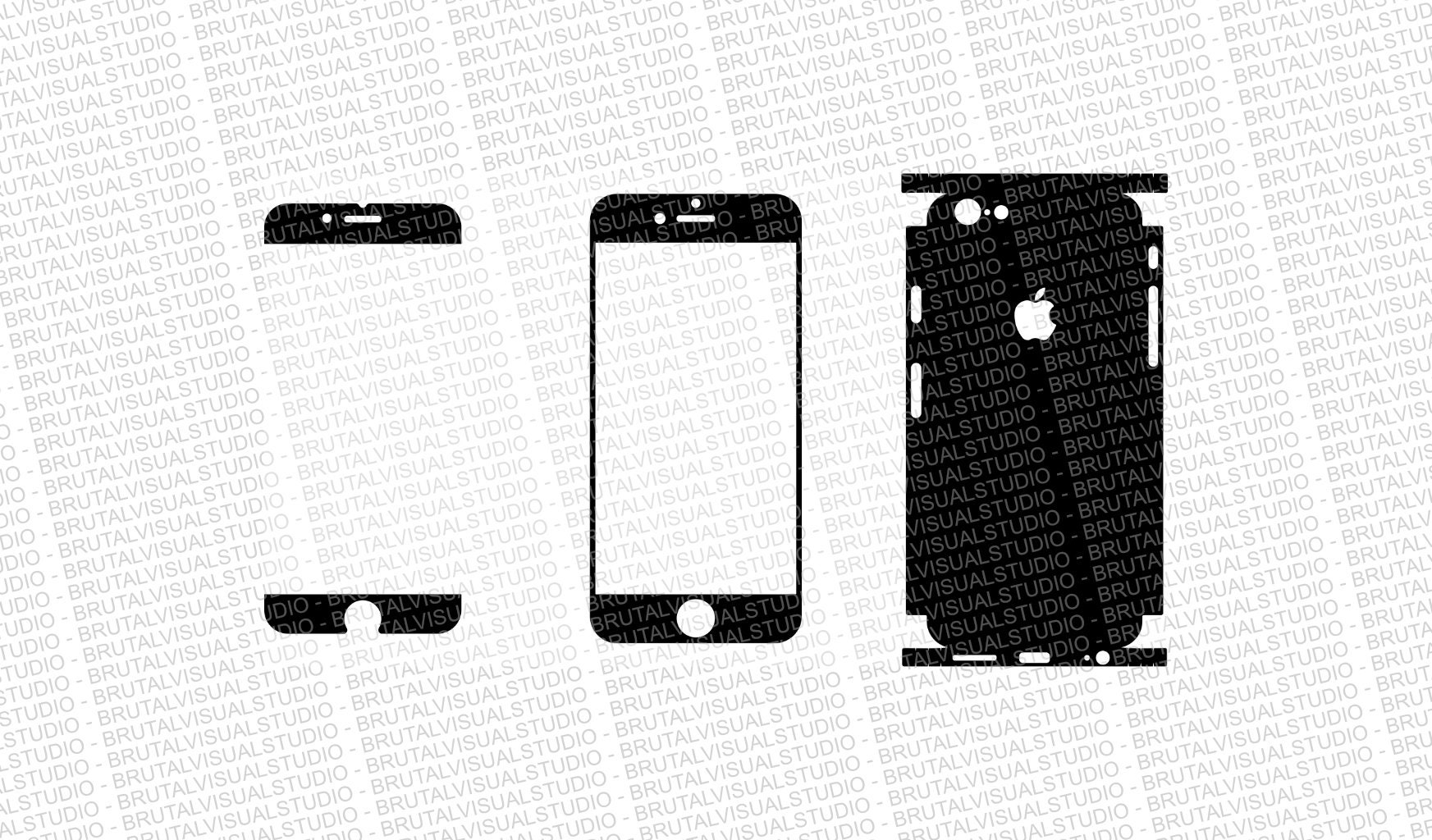 iphone 6s skin cut template ver 1 templates for cutting or