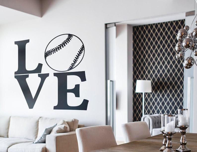 SVG  Love Baseball Typography  // eps pdf psd dxf jpg png bmp image 0
