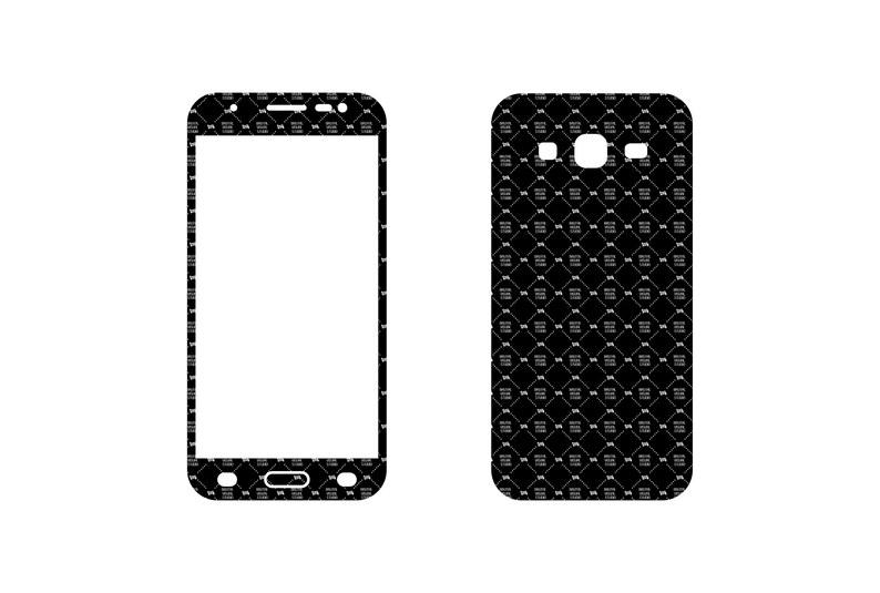 SVG  Samsung Galaxy J5 2015 // Skin Cut File //  Plotter CNC image 0