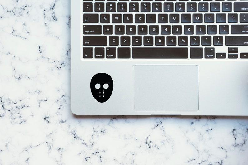 SVG  The Hockey Mask // Laptops // Vector // Universally image 0