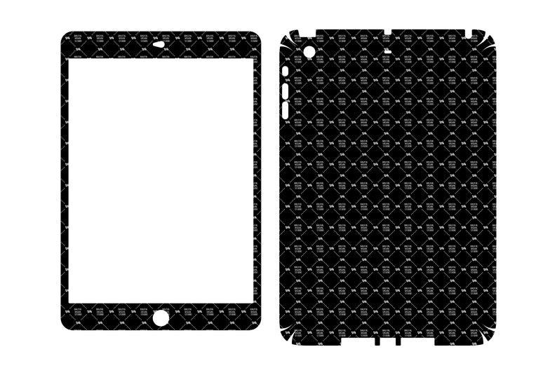 SVG  Apple iPad Mini Gen 2 // Skin Cut Template //  Plotter image 0