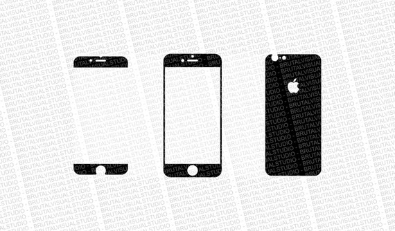 Iphone 6S Skin Cut Template Ver4 Templates For Cutting