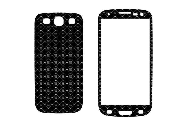 SVG  Samsung Galaxy S3 // Skin Cut File //  Plotter CNC image 0