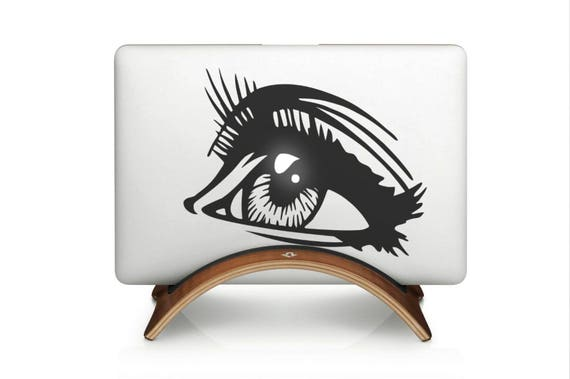 The Gazing Eyer Decal Sticker  | Laptop Macbook | Gaze Stare Glare Peer Gawk | Co, mac, Macbook Decal Sticker