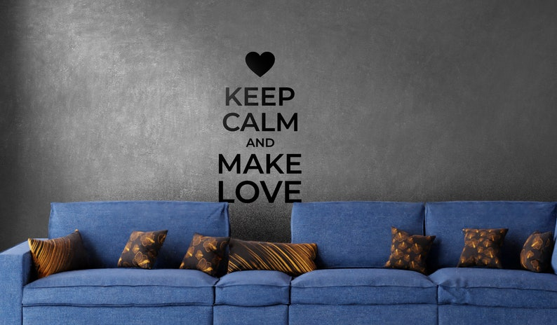 SVG  Keep Calm and Make Love // eps pdf psd dxf jpg png bmp image 0