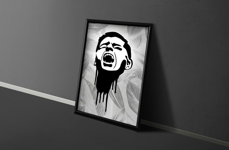 SVG  The Scream 2 // Universally Compatible Cut Files // image 0