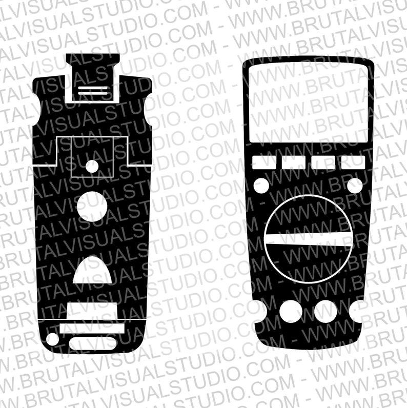 SVG  UNI-T 61 Digital Multimeters Series Full Skin // image 0