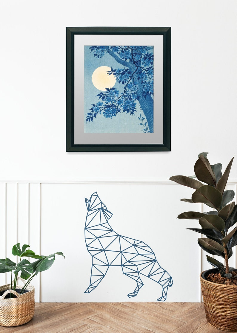 SVG  Low Polygon Wolf // LowPoly Designs // Vector // image 0