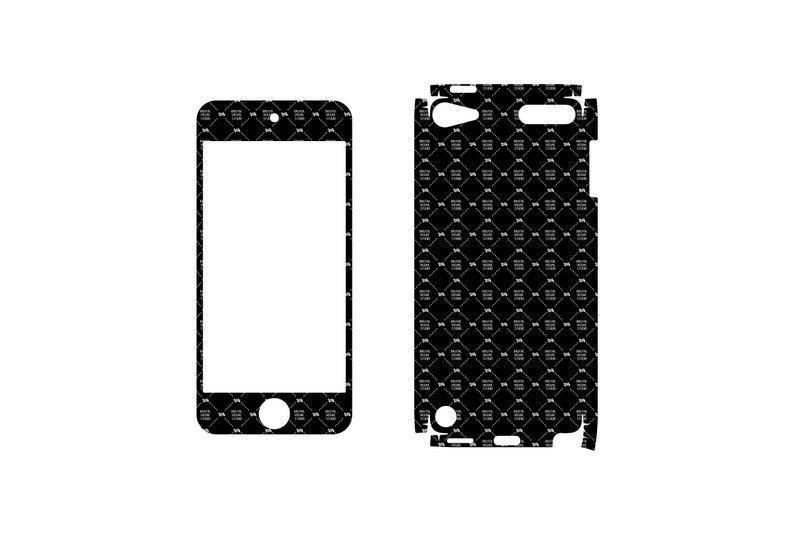SVG  iPod Touch 5 Skin //  Plotters CNCs Laser cutters // image 0