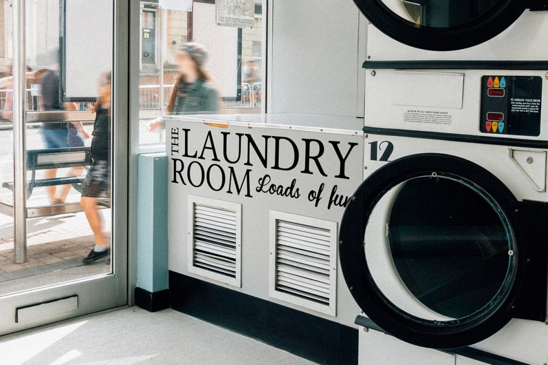 SVG  The Laundry Room // Loads of fun Vector // Universally image 0