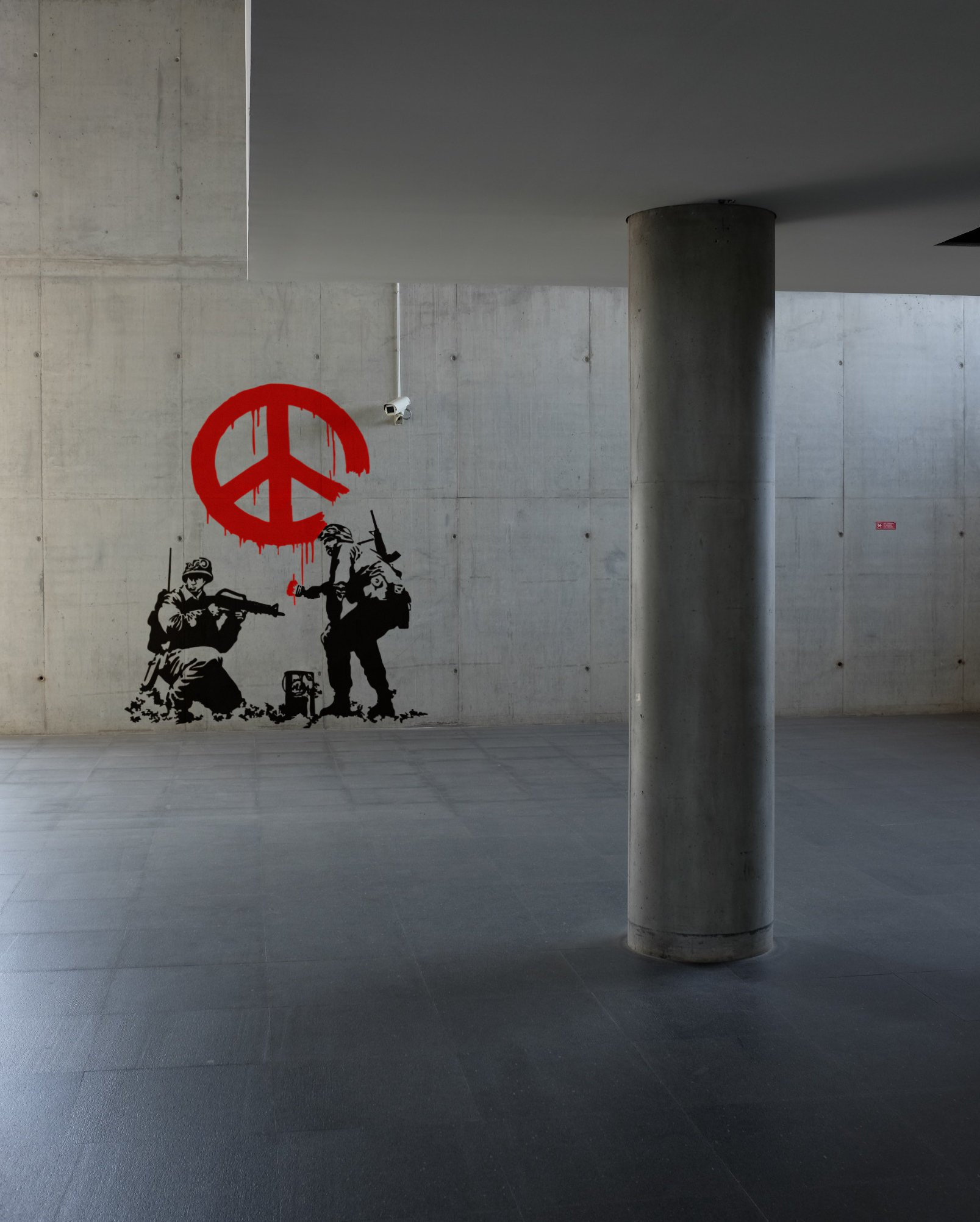 Composite Image Of Stencil Graffiti >> Banksy Army Peace Troopers Wall Decal Sticker Urban Art Artist