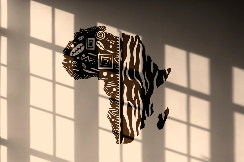 SVG  African Continent // Inspiring Vector // Cut Files // image 0