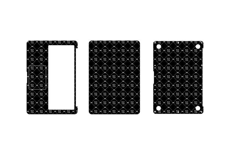 SVG  Macbook Air 13 Skin template // Digital Download image 0