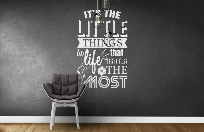 SVG  Its the little things in life that matter the most // image 0